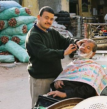 Golibroda w Starym Kairze