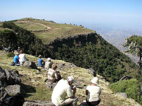 Nasza wycieczka w górach Siemen