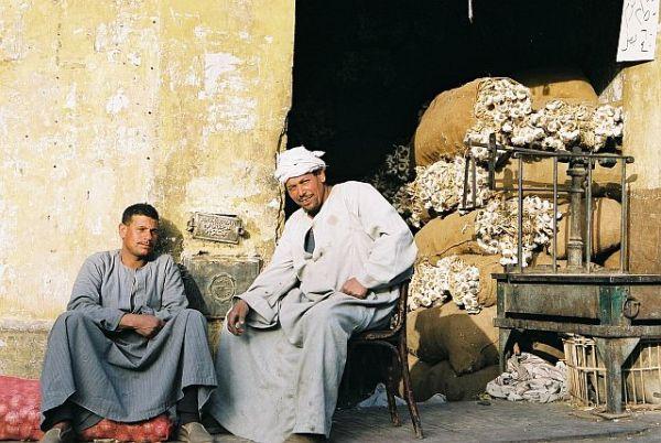 Bazar Chan al-Chalili w Kairze