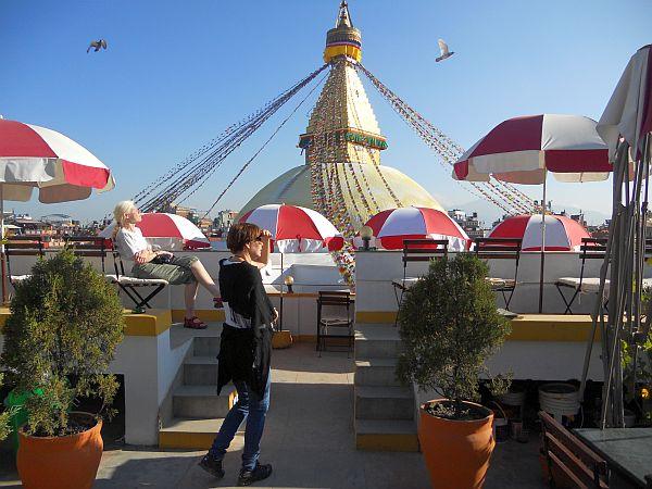 Nepal, Katmandu, moja ulubiona restauracja