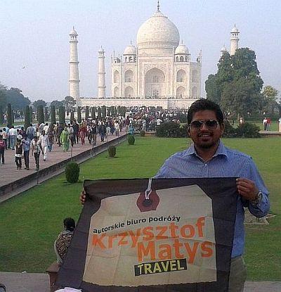 Nasze biuro w Tadź Mahal