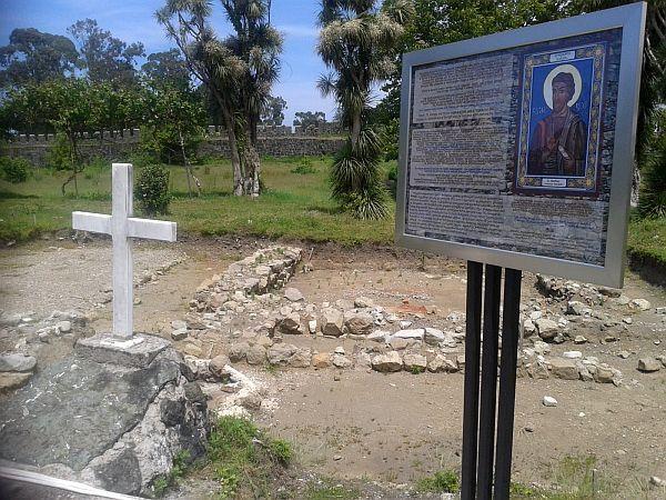 Gonio, miejsce pochówku św. Macieja