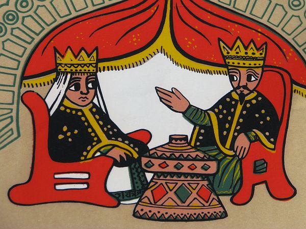 Królowa Saby i Salomon