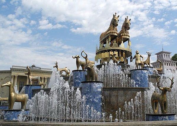 Kutaisi, fontanna