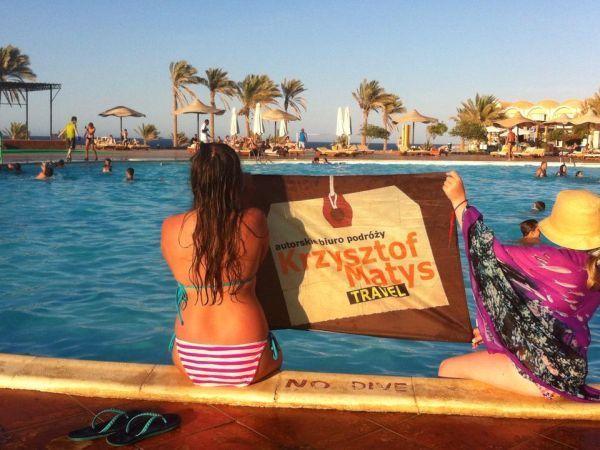 Zaletą Egiptu są hotele z dobrą infrastrukturą basenową, aquaparki, zjeżdżalnie...