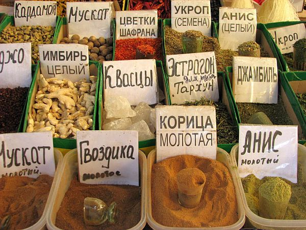 Na targu w Biszkeku
