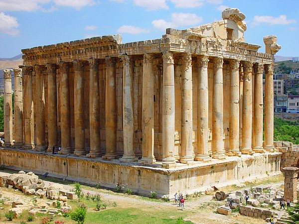 Baalbek, świątynia Jowisza