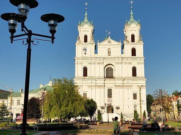 Barokowy kościół św. Franciszka Ksawerego w Grodnie