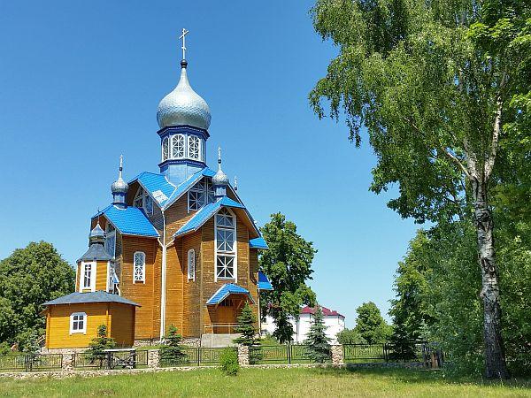 Cerkiew w Kamieniukach