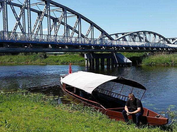 Przepływająca przez Tykocin Narew