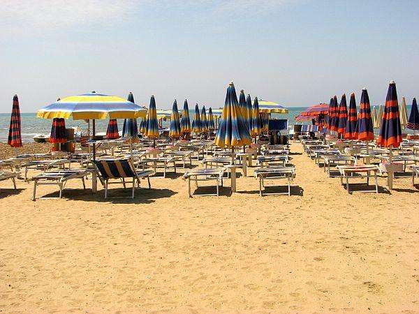 Albania, plaża w Durrës