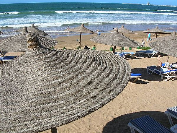 Maroko. Agadir w listopadzie