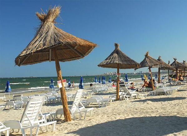 Plaża w Rumunii