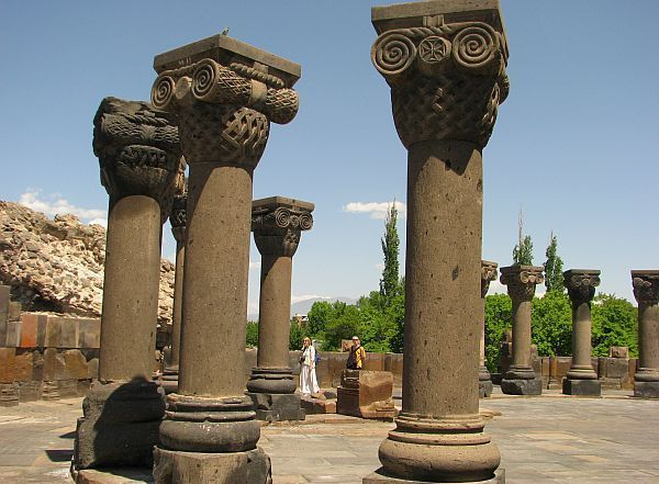 Zwartnoc (VII wiek), lista UNESCO