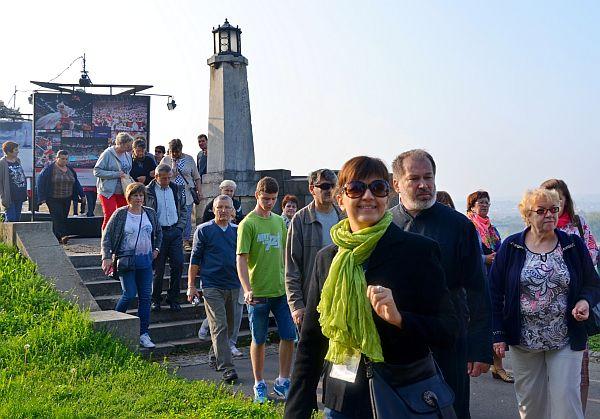 Irmina Stanković z wycieczką
