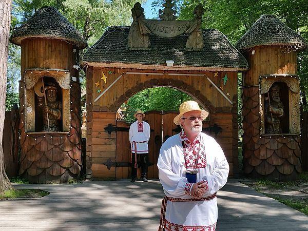Na Białorusi, tuż za granicą. Siedziba Dziadka Mroza