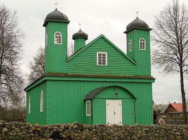 Szlak Tatarski, meczet w Kruszynianach