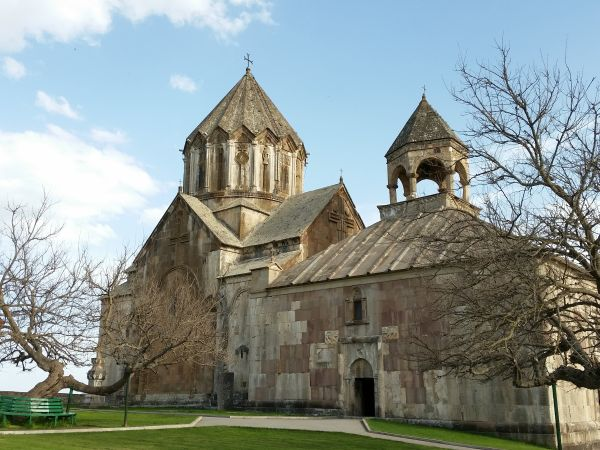 Klasztor Gandzasar (XIII wiek) jest jednym z ważniejszych zabytków Karabachu