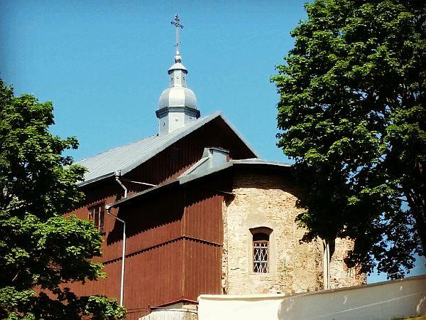 Jeden z zabytków Grodna - wzniesiona w XII wieku cerkiew na Kołoży