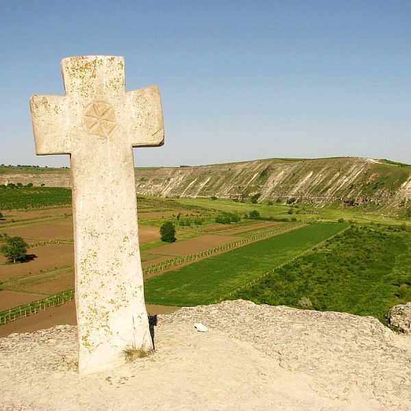 Krajobraz w Starym Orhei