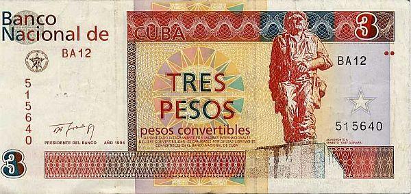Kuba. Peso wymienialne